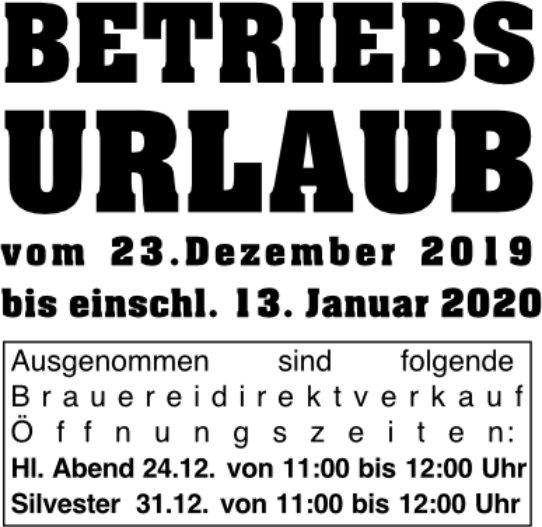 Betriebsurlaub_2019